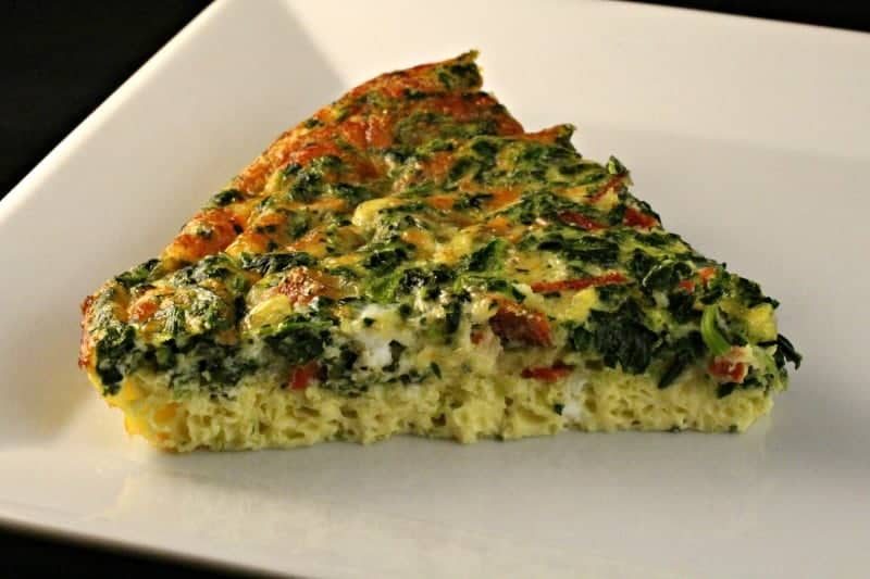 Pepperoni and Muenster Quiche Recipe