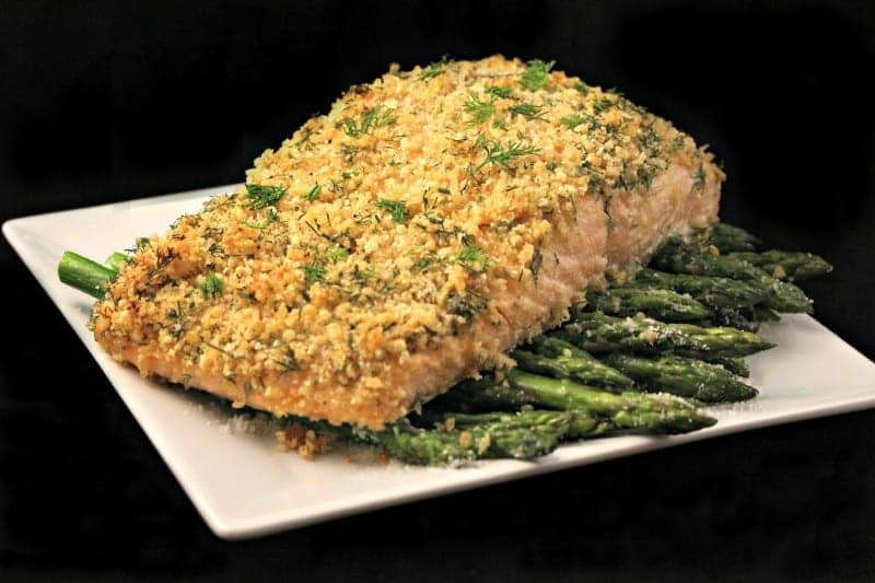 Dijon Crusted Salmon Recipe