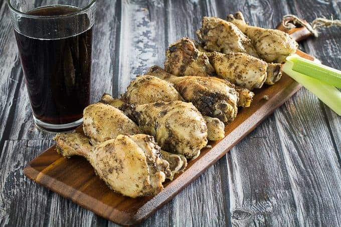 garlic herb chicken drumstick recipe
