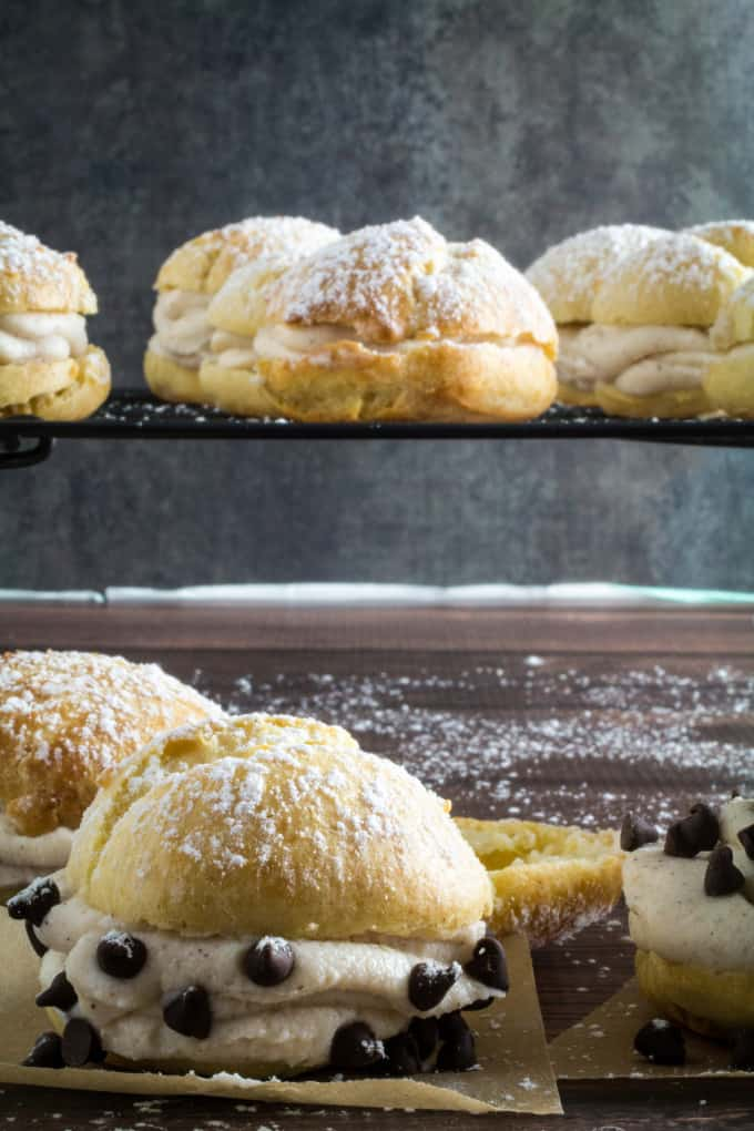 That's where this Gluten Free Cannoli Cream Puff Pastry recipe comes ...