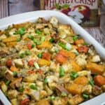 Root Vegetable Gluten Free Stuffing