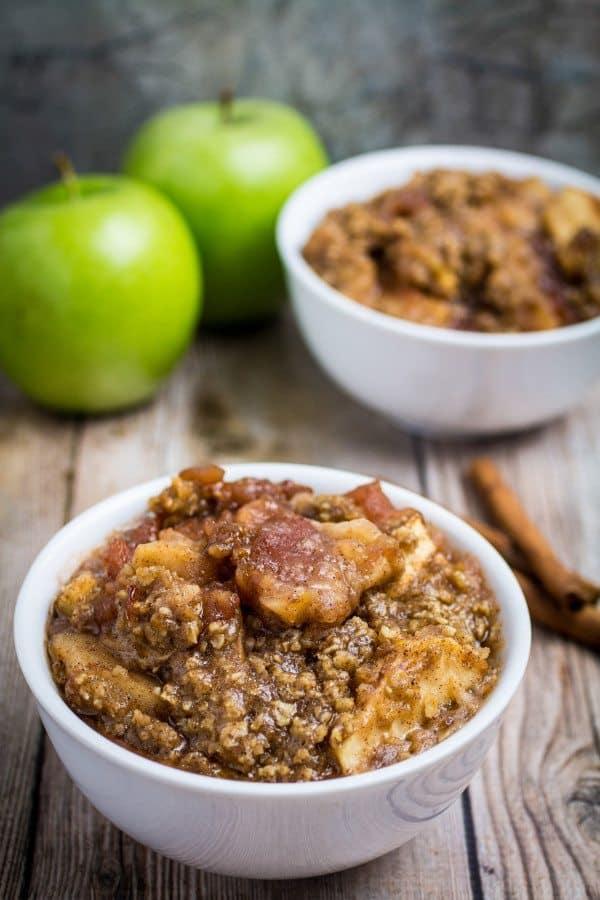Slow Cooker Apple Crisp – Gluten Free!