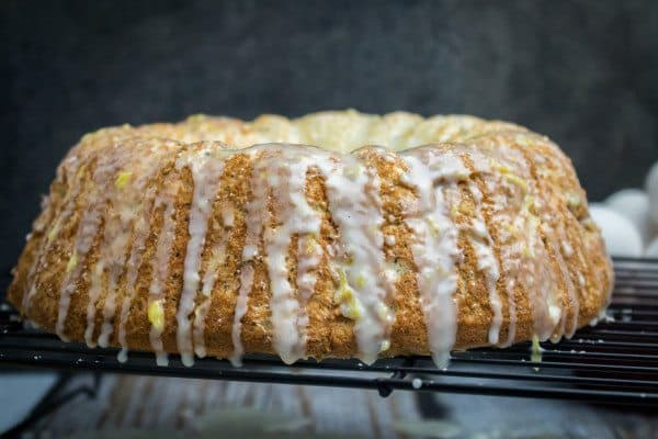 Poppy Seed Angel Food Cake