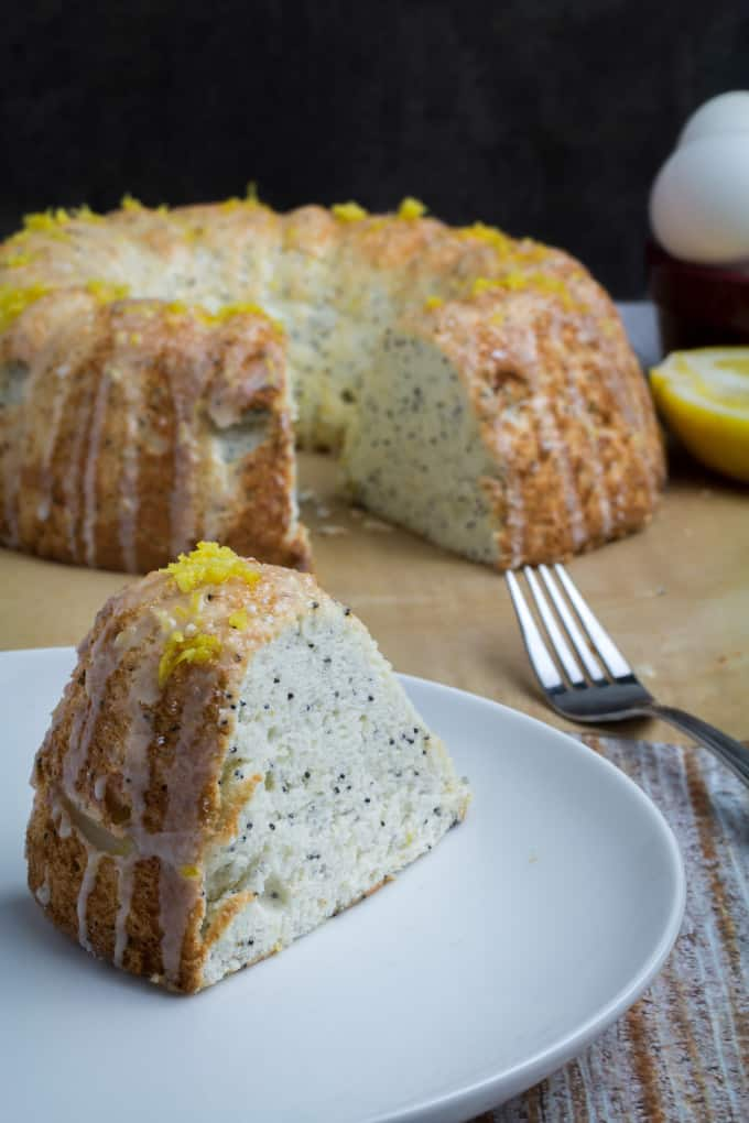 Lemon Poppy Seed Cake From Scratch