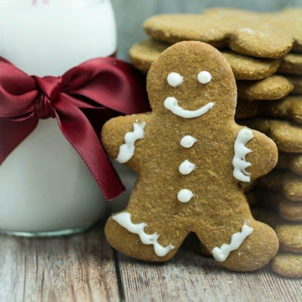 Gluten Free Gingerbread Men Cookies - Dishing Delish