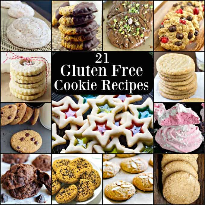 21 gluten free cookie recipes