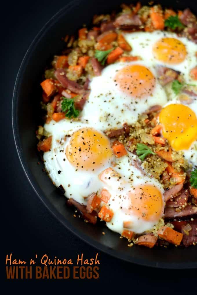 ham & Quinoa Recipe
