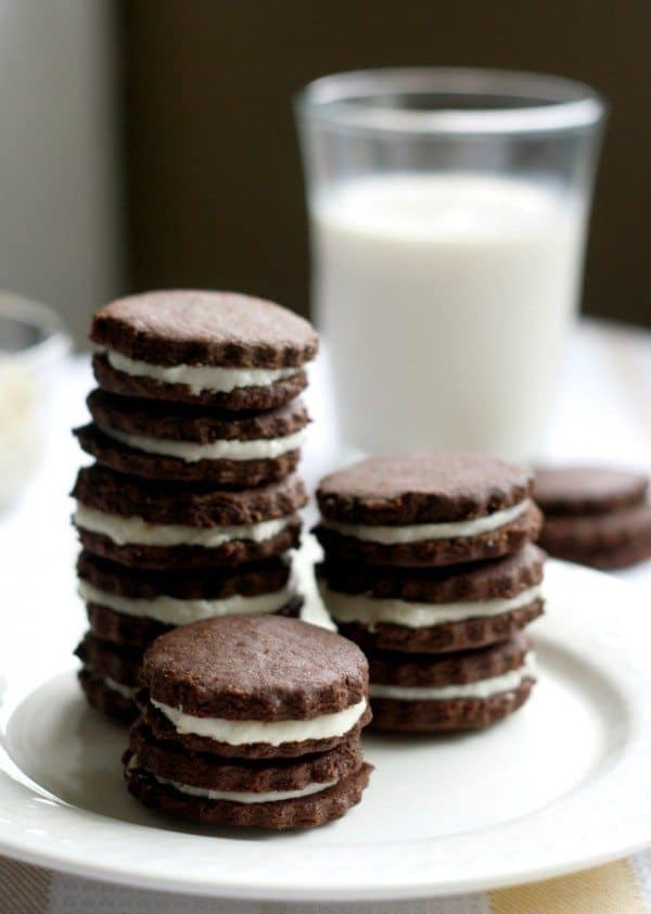 gluten free chocolate sandwich cookies