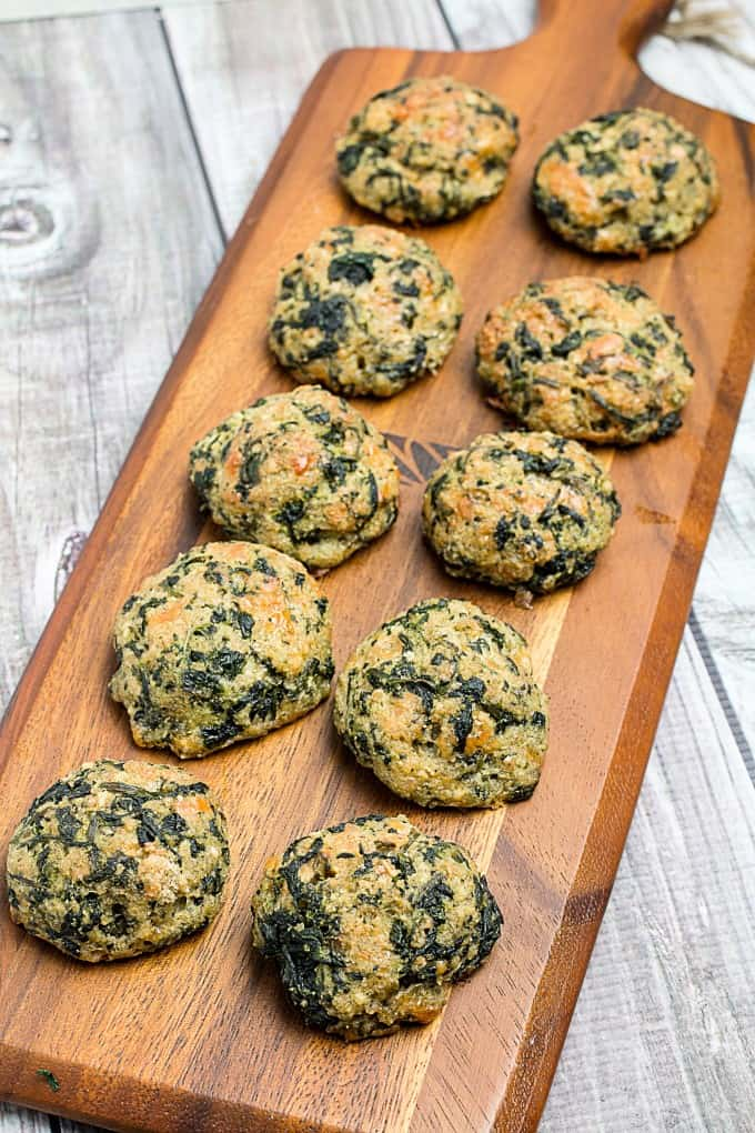Best Ever Spinach Balls Appetizer Dishing Delish