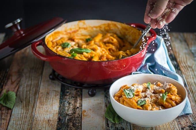 One Pot Chicken Parm & Pasta 1