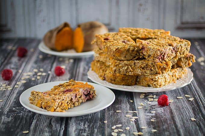 gluten free sweet potato breakfast bars