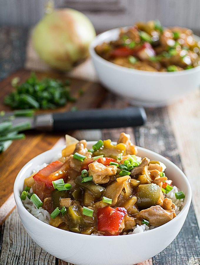 Slow Cooker Sweet & Sour Chicken