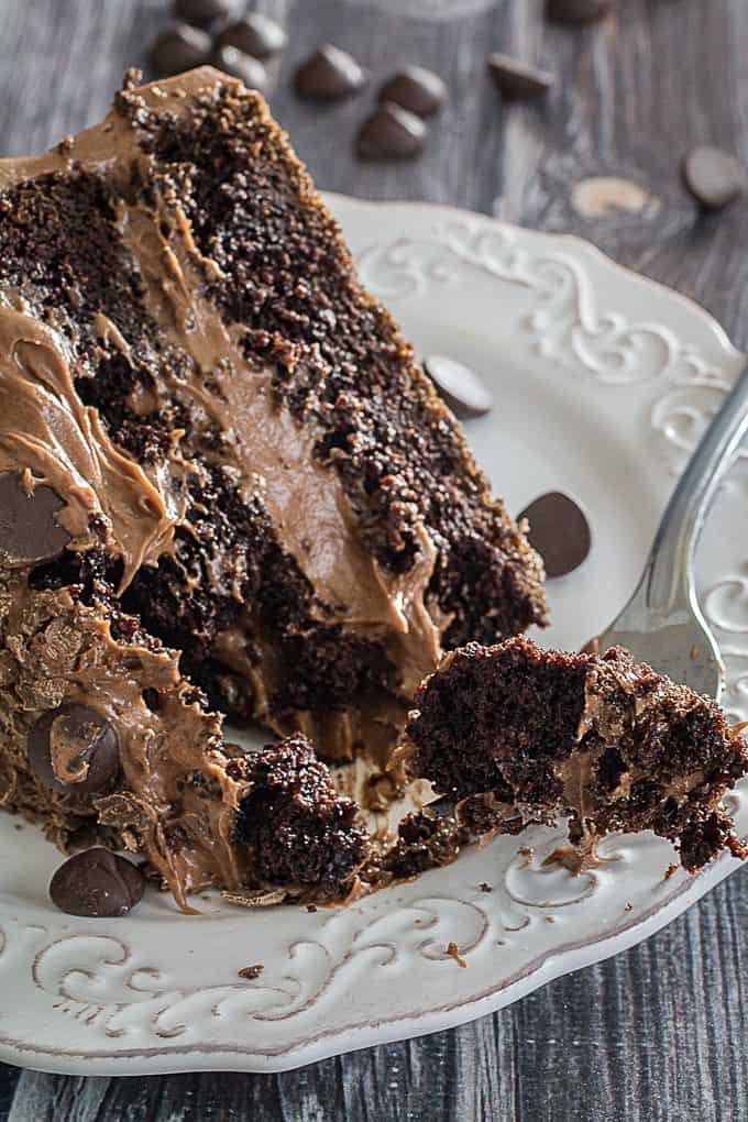 Chocolate Cake Images Free : Gluten Free Double Chocolate Cake & Chocolate Frosting ...