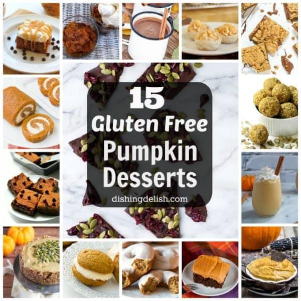 15 Absolutely Amazing Gluten Free Pumpkin Desserts