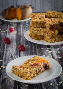 gluten free sweet potato breakfast bars