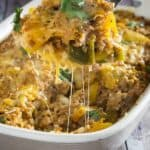 Cheesy Stuffed Pepper Casserole