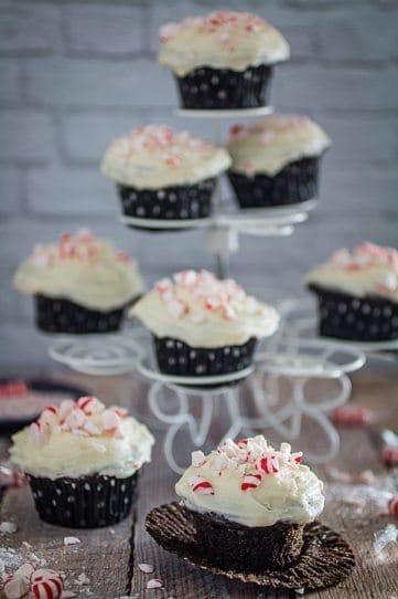 Gluten Free Peppermint Mocha Cupcakes