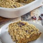 Amish Baked Oatmeal with Cranberries & Walnuts