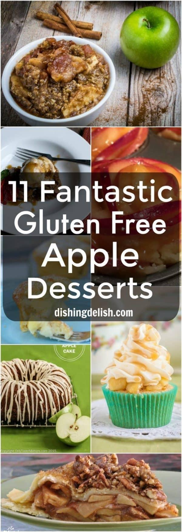 11 Fantastic Gluten Free Apple Desserts