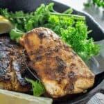 Blackened Mahi Mahi & Homemade Cajun Spice Rub
