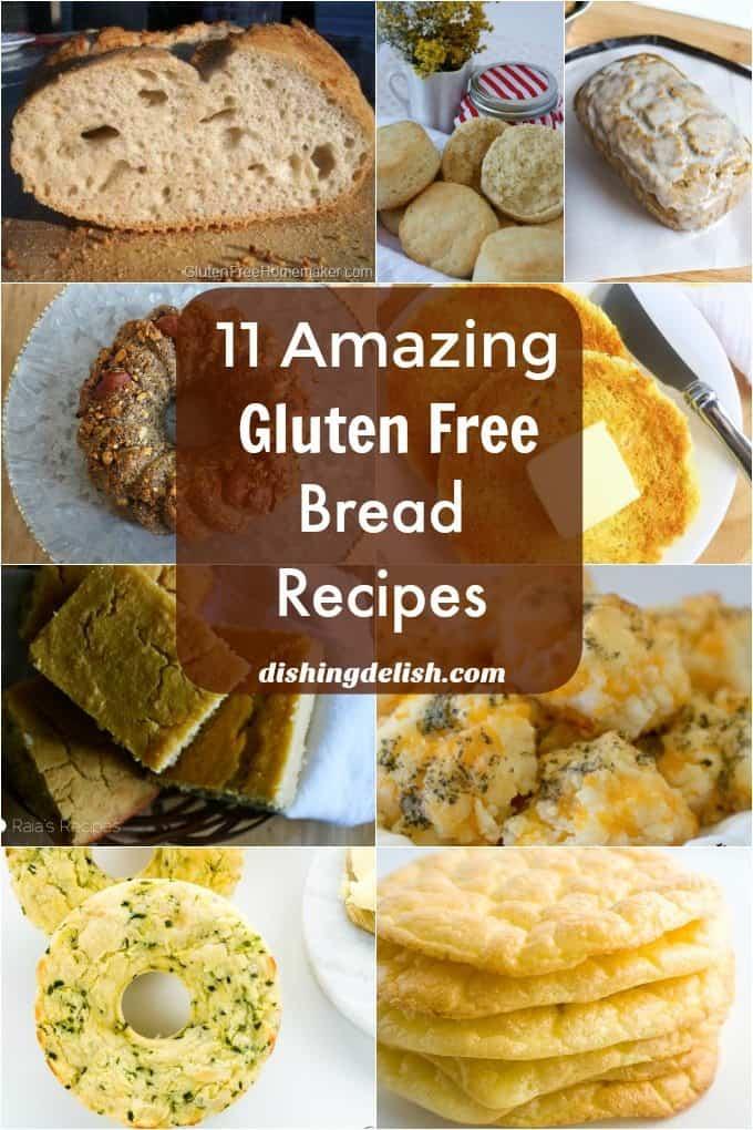 11 Amazing Gluten Free Bread Recipes