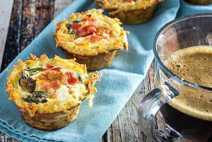Breakfast Egg White Muffins