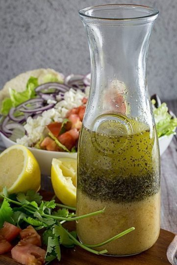 Best Greek Salad Dressing & Greek Salad
