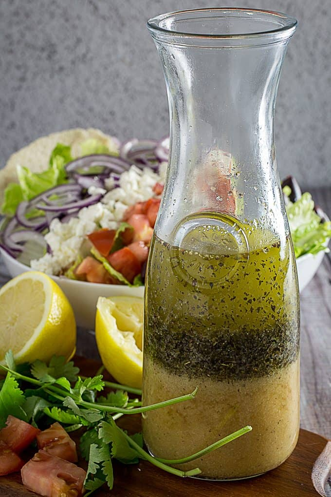 Greek Salad Dressing Greek Salad Dishing Delish