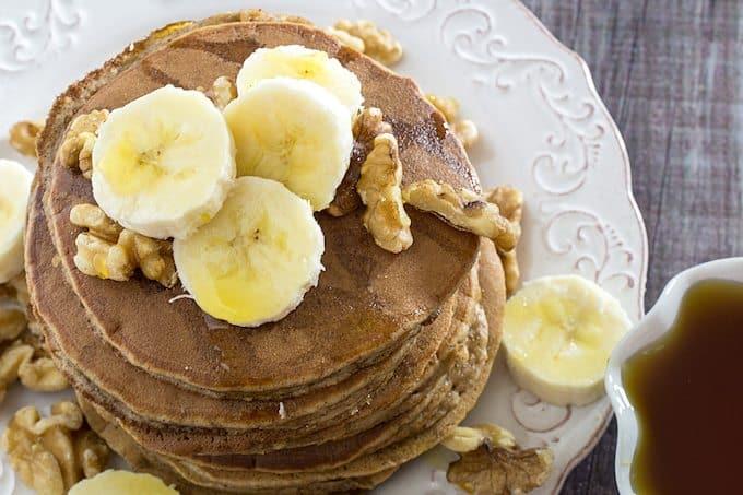 paleo banana pancakes almond flour pancakes