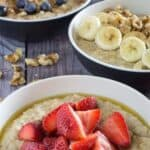 Slow Cooker Steel Cut Oats