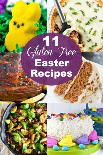 11 Easy Gluten Free Easter Recipes