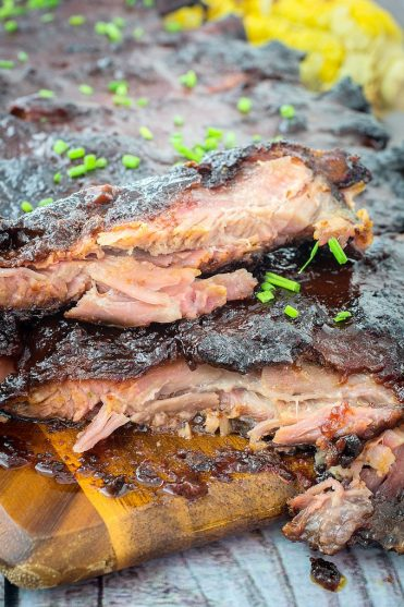 Smoked BBQ Ribs & Tangy Spice Rub