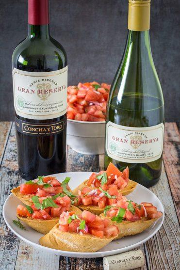 Balsamic Tomato Bruschetta – Gluten Free!