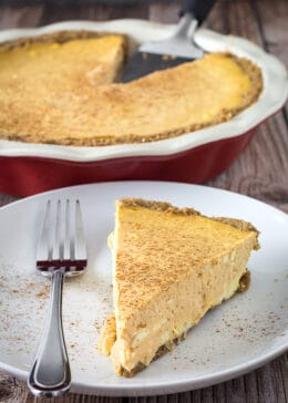 gluten free pumpkin pie cheesecake