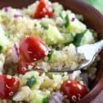 Mediterranean Quinoa Salad Recipe – Gluten Free!