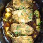 Slow Cooker Pork Chops & Potatoes
