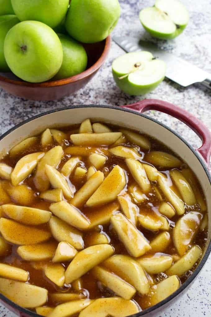 apple pie filling from scratch