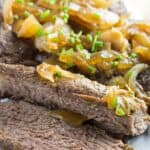 Easy London Broil Crock Pot Recipe