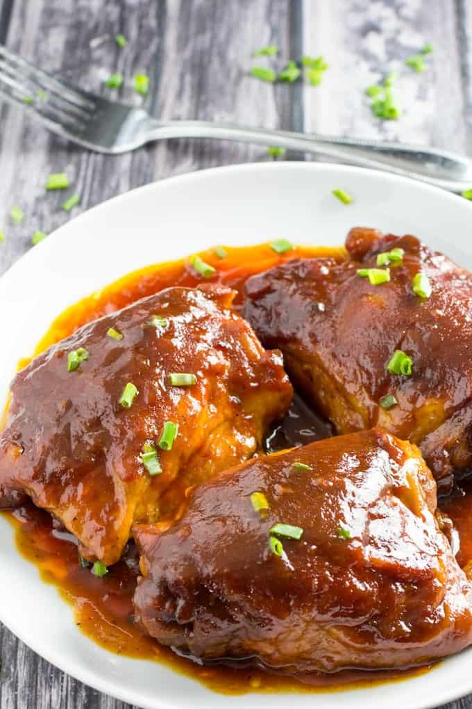 crockpot bbq chicken