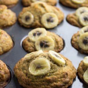 gluten free banana muffins recipe