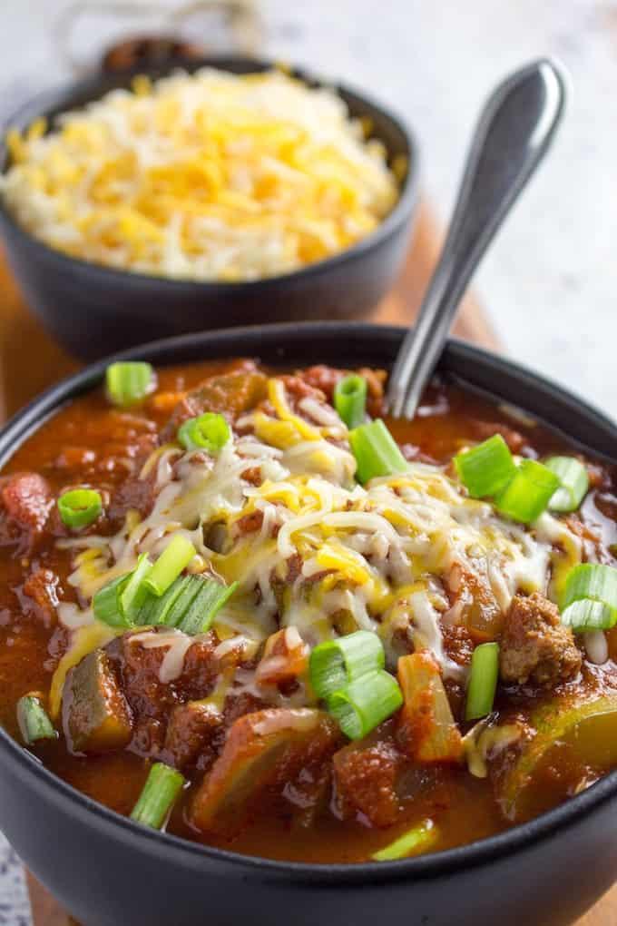 chili recipe no beans