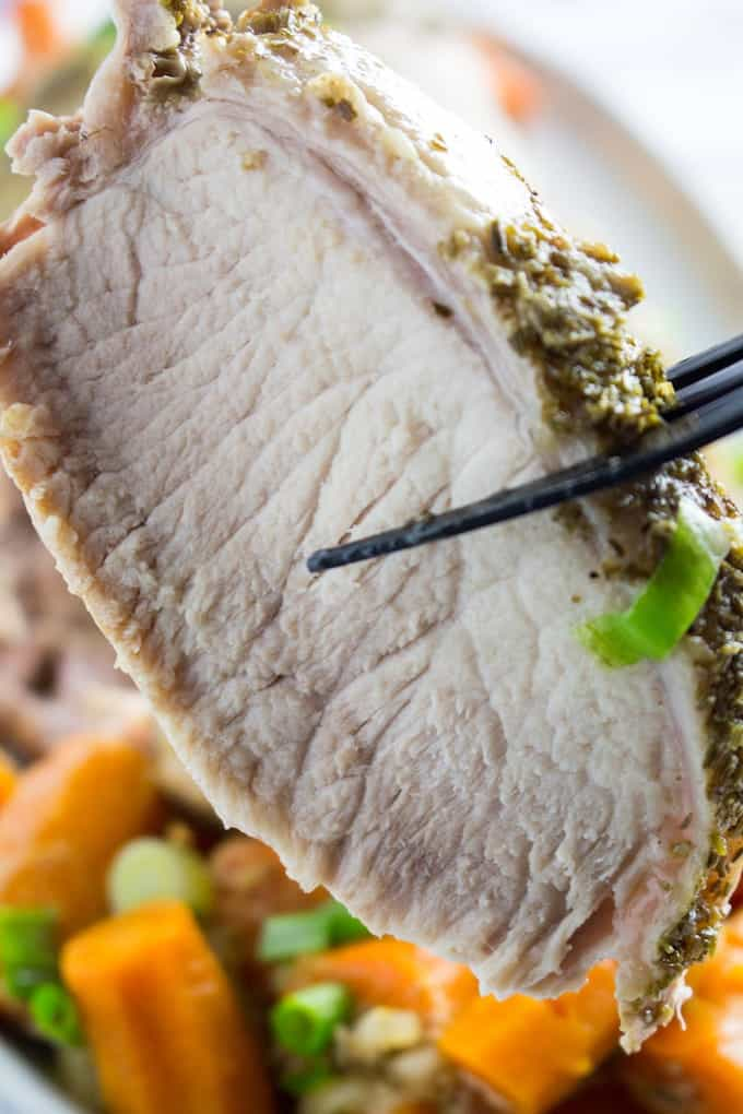 how to cook pork loin in instant pot