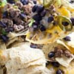 how to make beef nachos