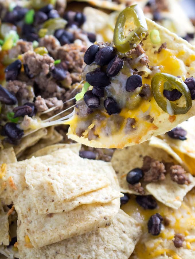 how to make beef nachos