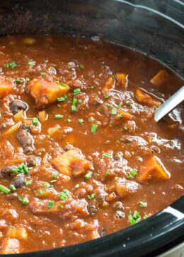 sweet potato chili slow cooker