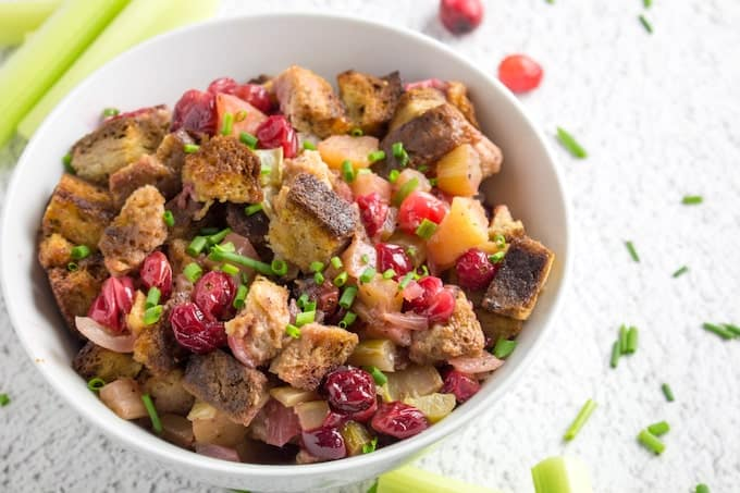 cranberry stuffing recipe