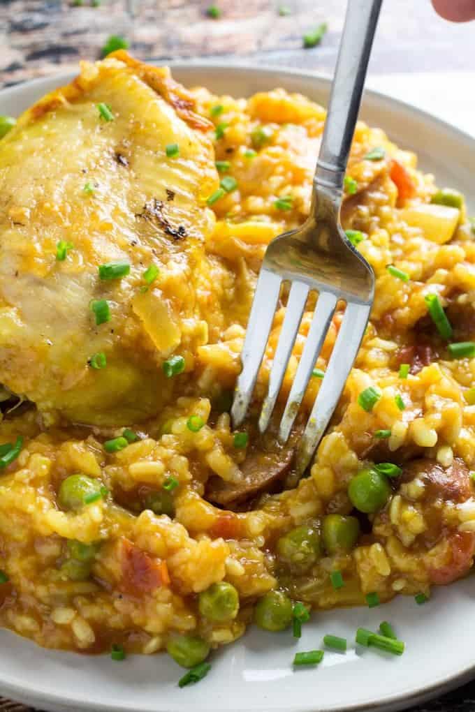 crockpot paella