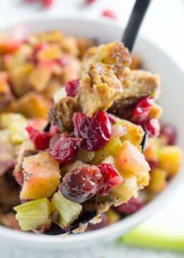 fresh cranberry stuffing