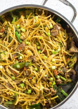 gluten free lo mein