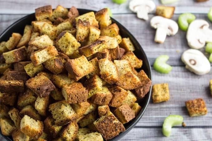 vegan gluten free stuffing